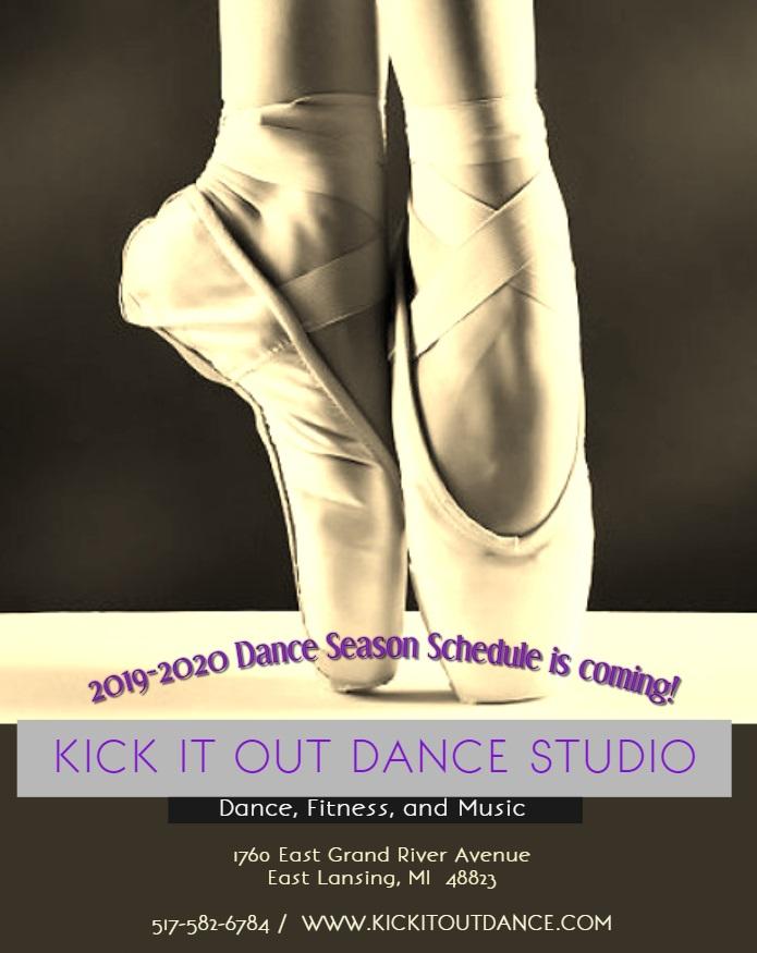 2019-2020 Dance Season Schedule