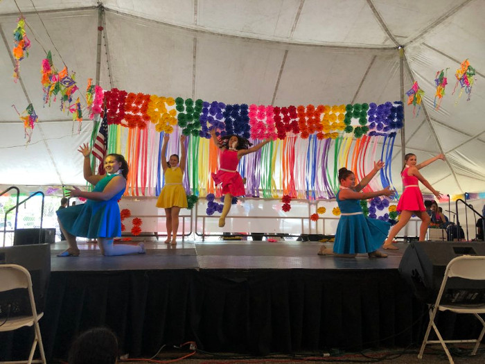 We perform at local events like FIESTA! and other Festivals