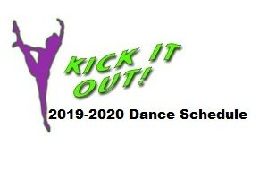 2019-2020 Fall Dance Program Schedule
