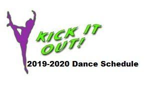 2019-2020 Fall Dance Program Schedule