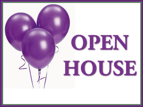 Open House & Class Registrations!