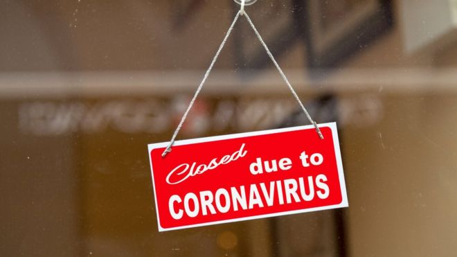 Covid-19 Corona Virus Closure