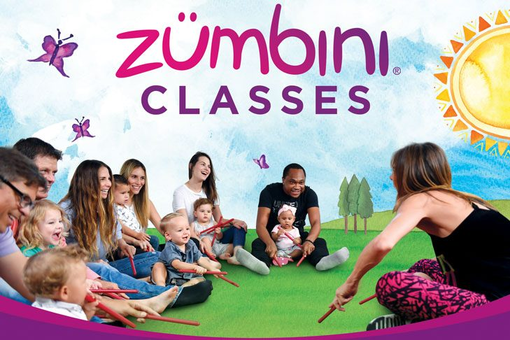 Zumbini - Kids ages 0-4 with parents