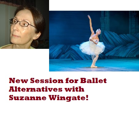 Adult Ballet with Suzanne Wingate
